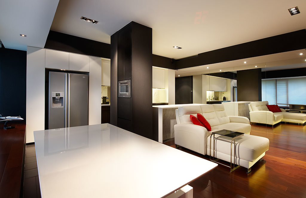 Condominium interior design the image for Condominium decoration