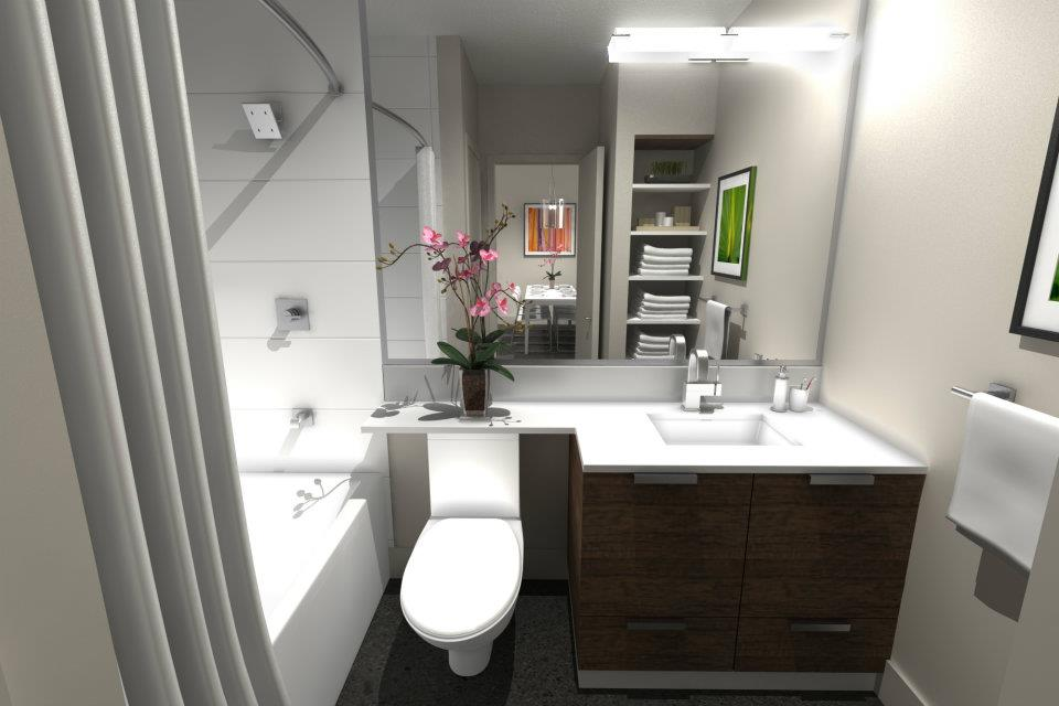 Best ways to upgrade your condo s bathroom m3studio blog for Condo bathroom designs